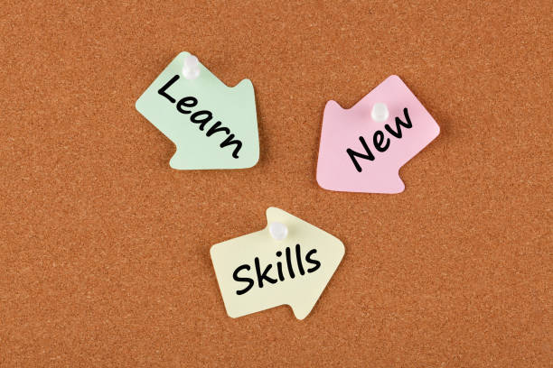 Learn New Skills stock photo
