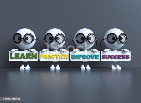 istock Learn Practice Improve Success 1125983237