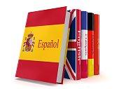 Learn Spanish language book e-learning