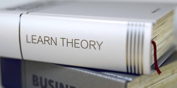 apprendre la théorie. titre de l'ouvrage sur la colonne vertébrale. 3d - titre mondial photos et images de collection