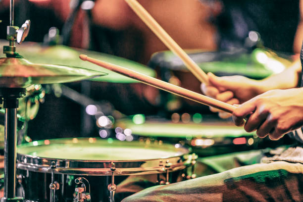 Learn to play the drums Learn to play the drums drummer stock pictures, royalty-free photos & images