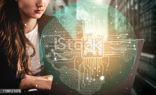 istock AI Learning and Artificial Intelligence Concept. 1159121076