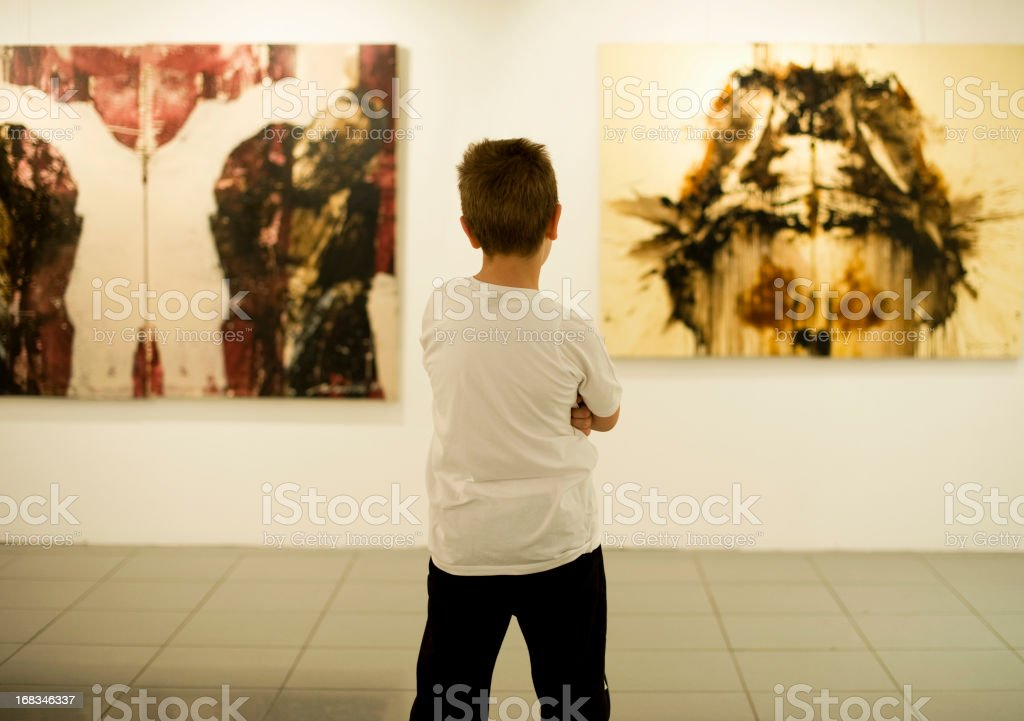 Learning Art royalty-free stock photo