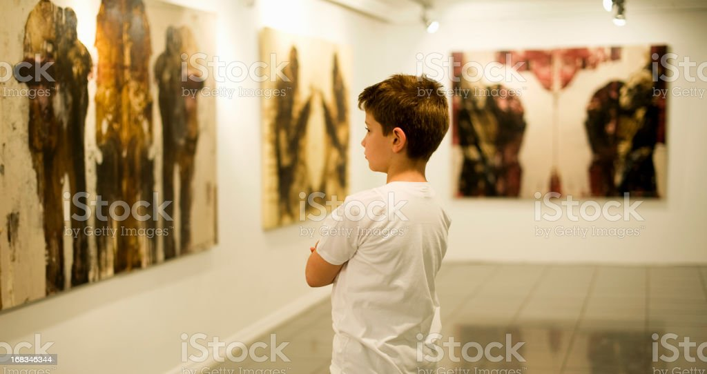 Learning Art stock photo