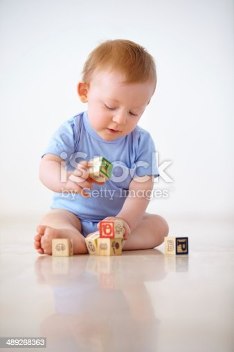 489225417istockphoto Learning at home 489268363