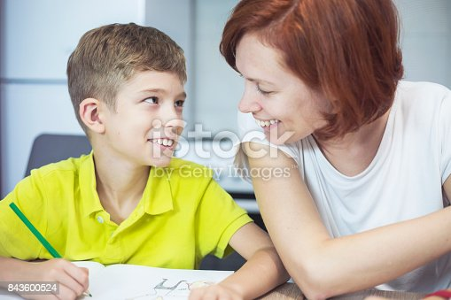 istock Learning at home 843600524