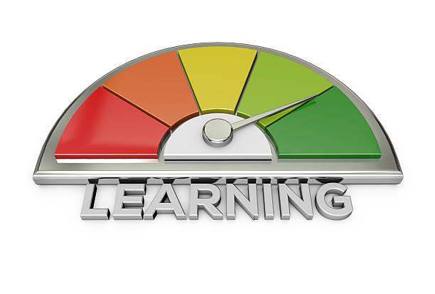 learning-tabelle - lernfortschrittskontrolle stock-fotos und bilder