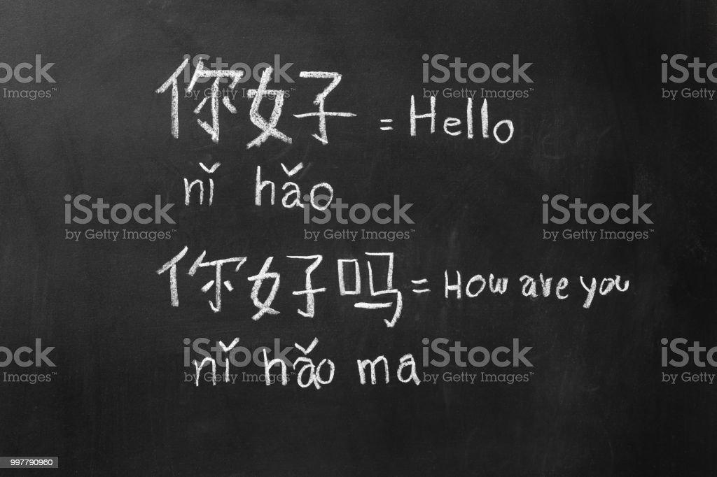 Lernen chinesische Alphabet