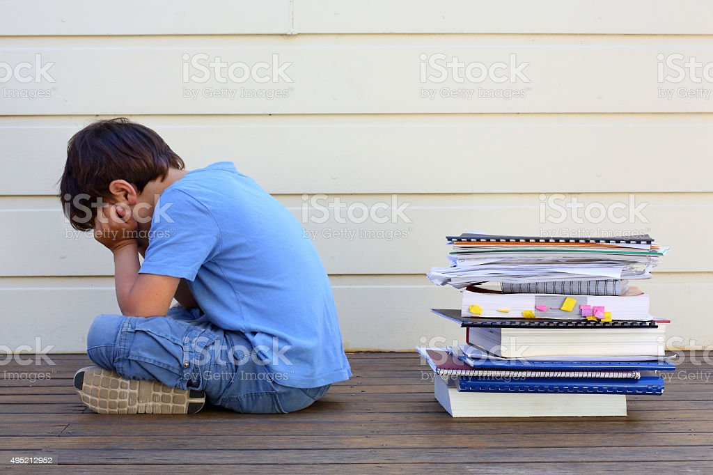 Learning Difficulties stock photo
