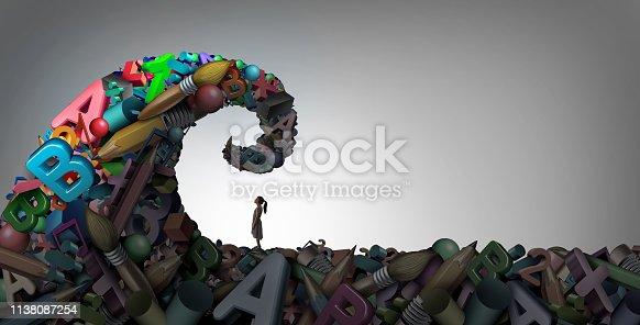 istock Learning Disability Concept 1138087254