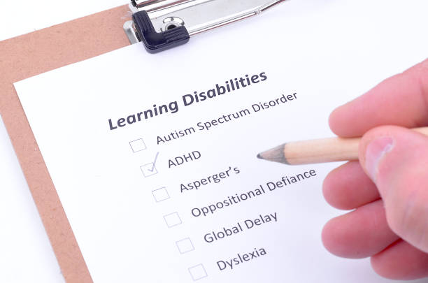 Learning Disability in Education stock photo