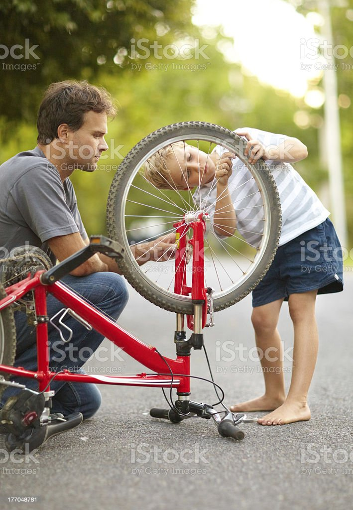 Learning from the best stock photo