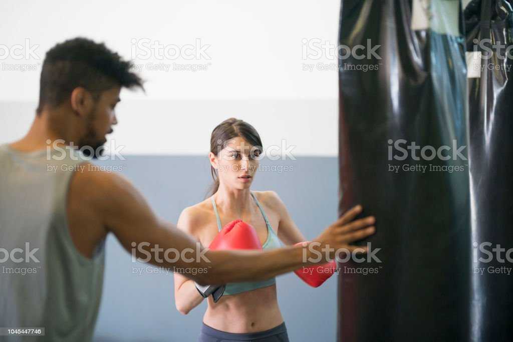Learning How To Be A Badass stock photo