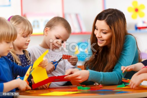 istock Learning In Preschool 494678785