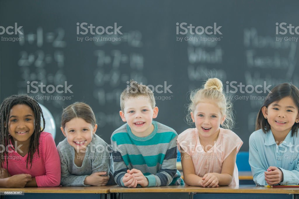 Learning is Fun! stock photo