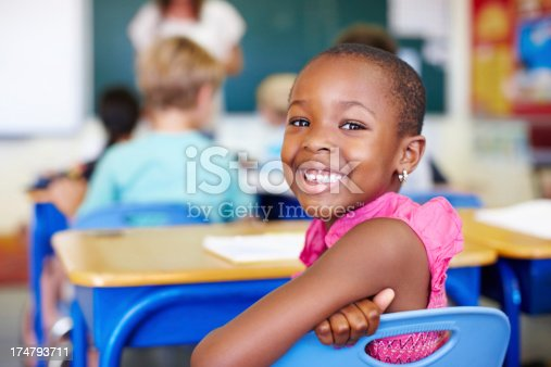 istock Learning makes me smile 174793711