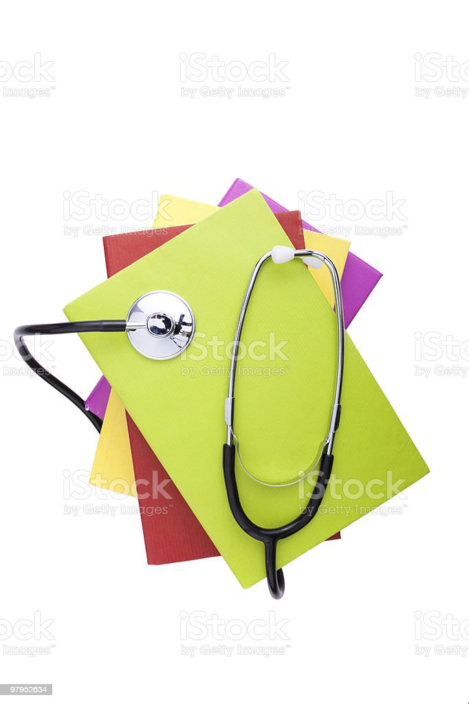 Learning Medicine royalty-free stock photo