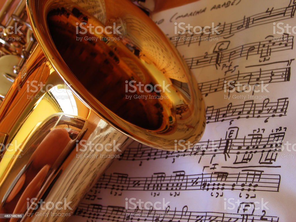 learning music royalty-free stock photo