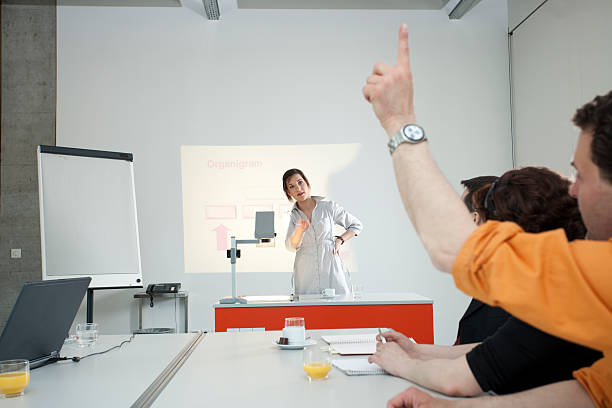 learning learning session in a  conference roomclick here for more overhead projector stock pictures, royalty-free photos & images