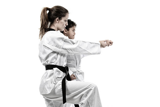 learning - martial arts gerville stock pictures, royalty-free photos & images