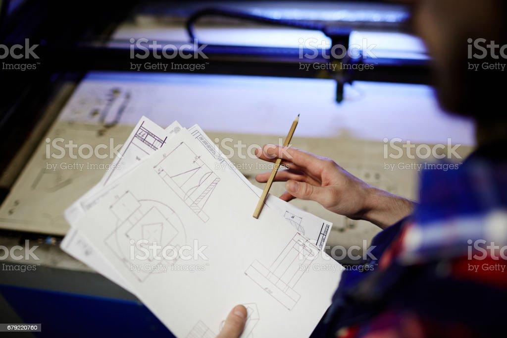 Learning sketch photo libre de droits