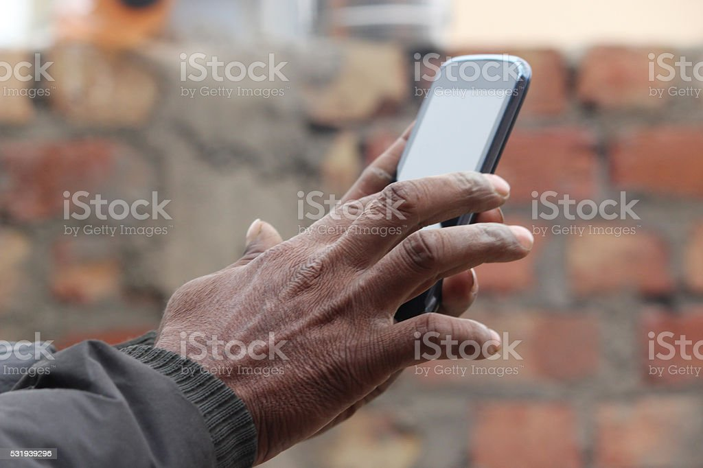 Learning Smartphone stock photo