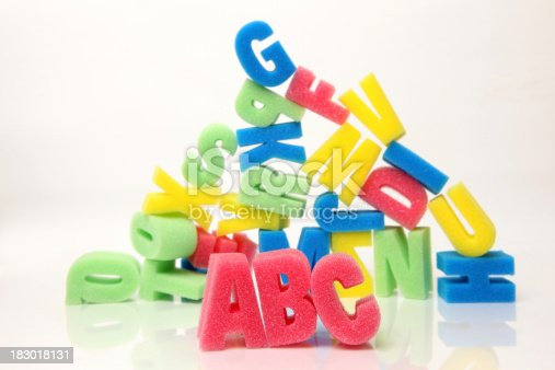 istock Learning the alphabet 183018131
