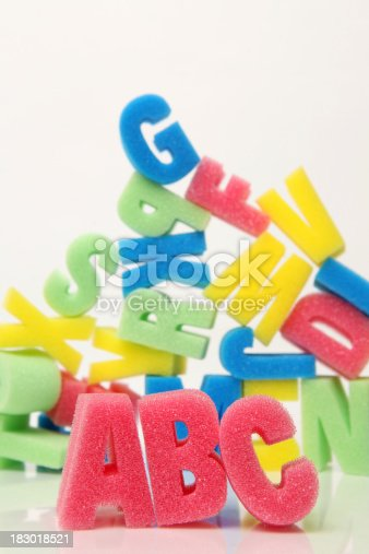 istock Learning the alphabet 183018521