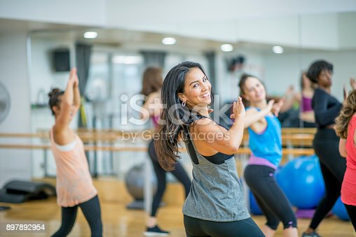 897892972 istock photo Learning To Dance 897892954