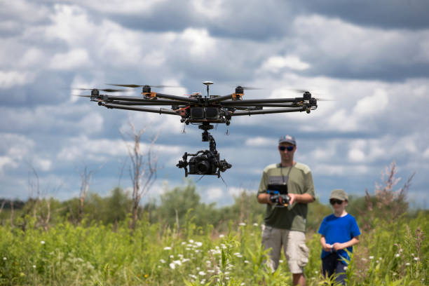 learning to fly a drone – zdjęcie