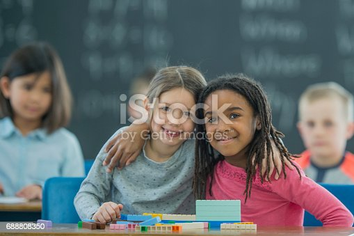 istock Learning Together with Math Blocks 688808350