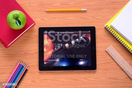 istock Learning with iPad 478201487