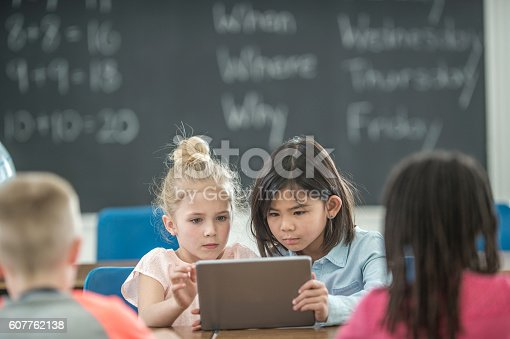 istock Learning with Technology 607762138