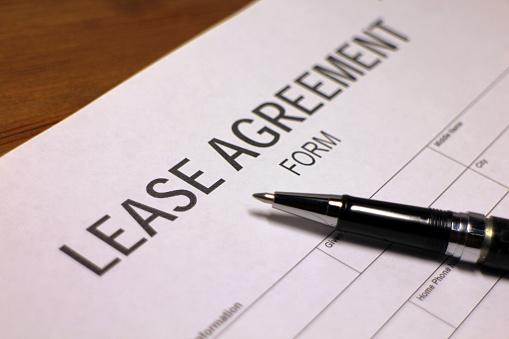 512011833 istock photo Lease Agreement Document 530584601