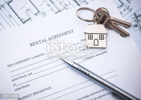 istock Lease agreement 470721655