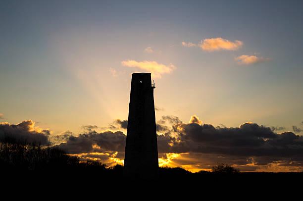 Leasowe Lighthouse Sunset stock photo