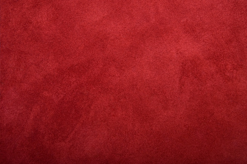 Old red leather useful as texture or background