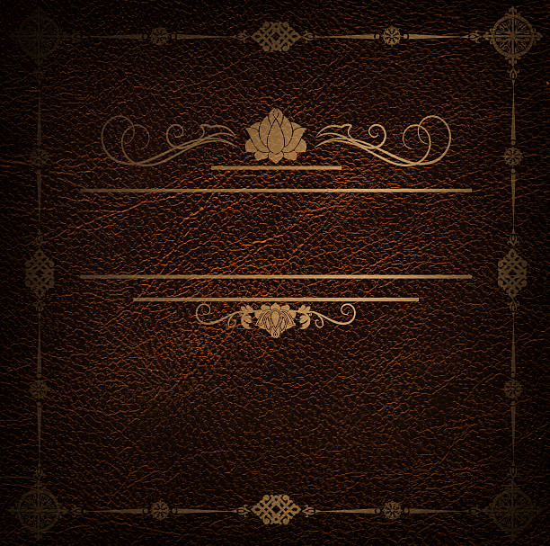 Photo Creative Backgrounds Book Cover : Leather book cover pictures images and stock photos istock