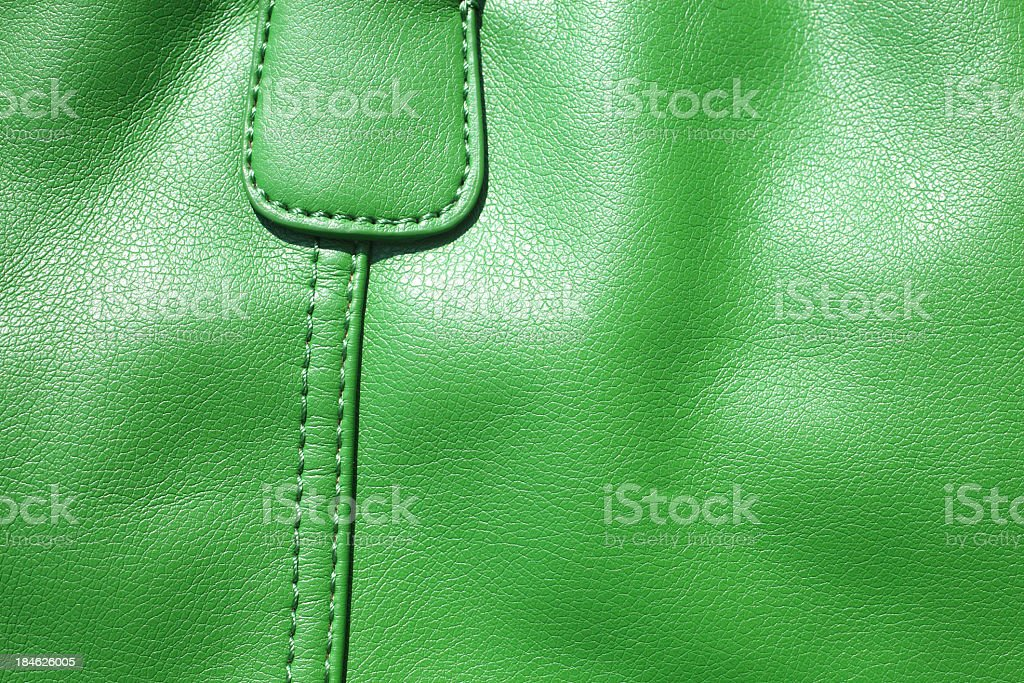 leather bag detail royalty-free stock photo