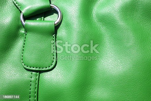 istock leather bag detail 186861144