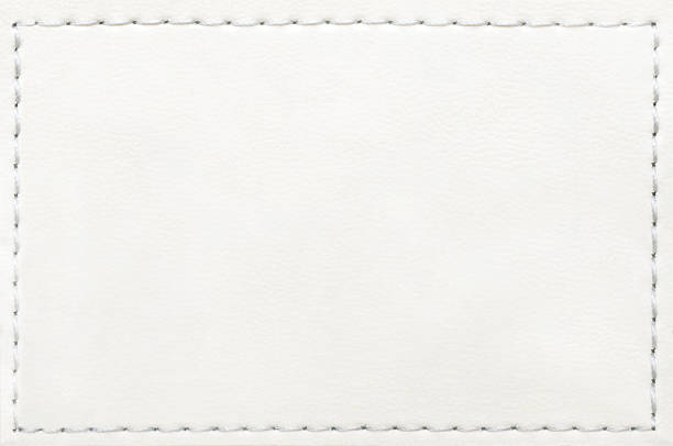 leather blank jeans label - label stock pictures, royalty-free photos & images