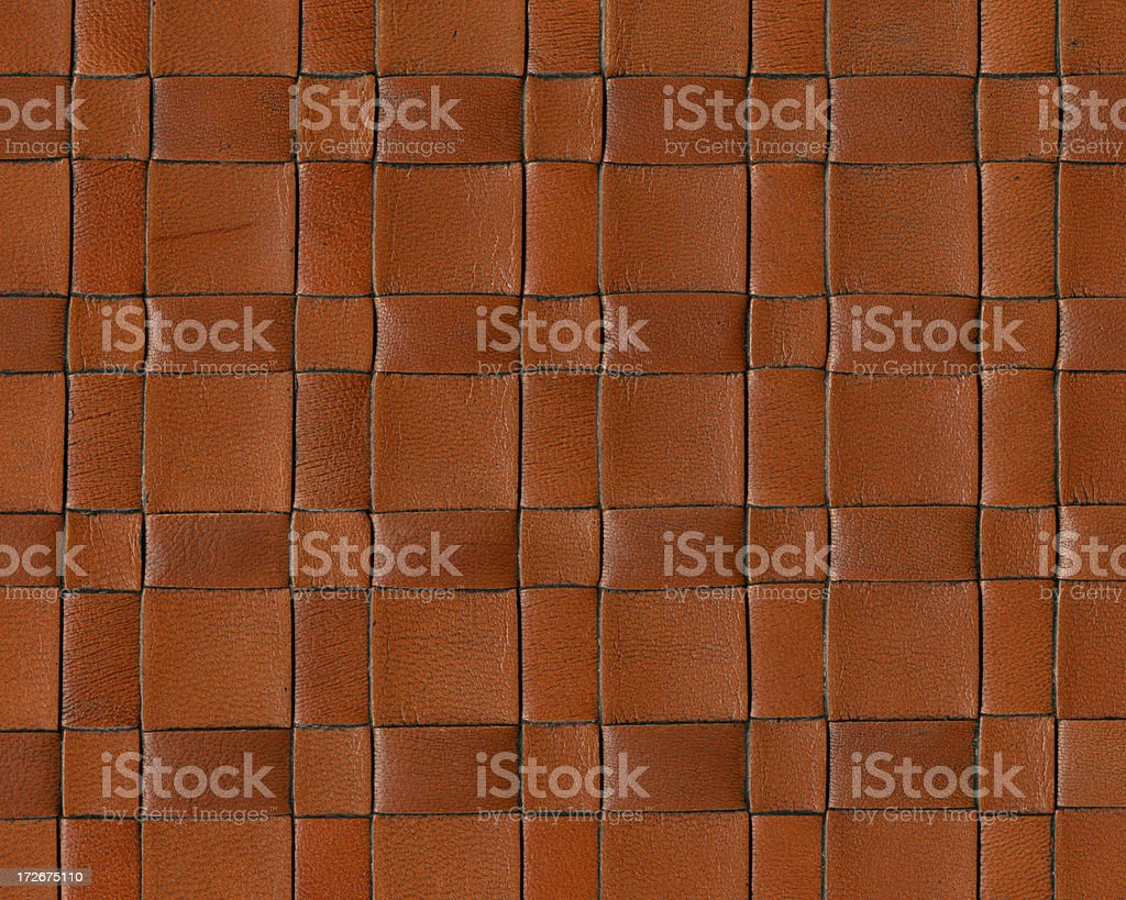 leather braid pattern royalty-free stock photo