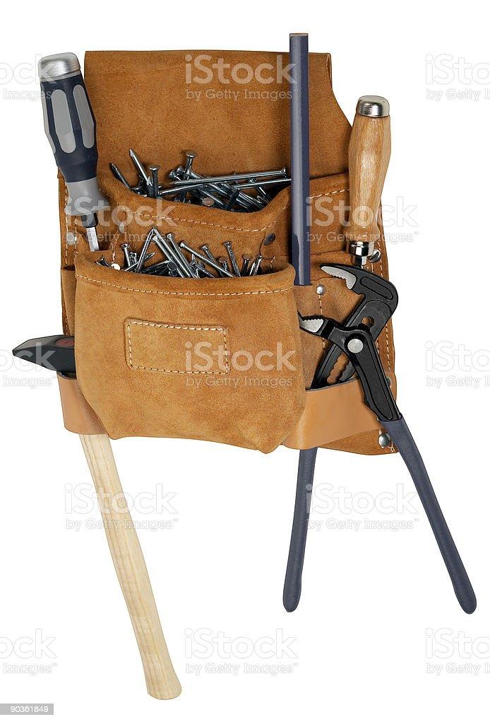 leather bumbag royalty-free stock photo