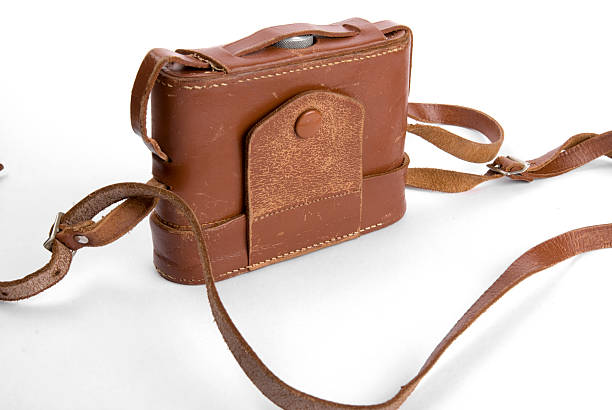 Leather Casing stock photo