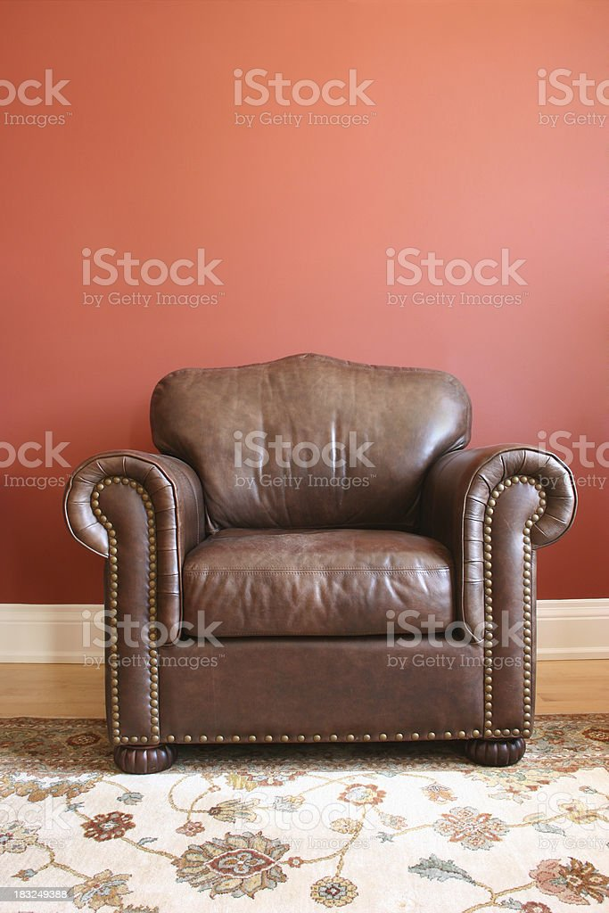 Leather Chair royalty-free stock photo