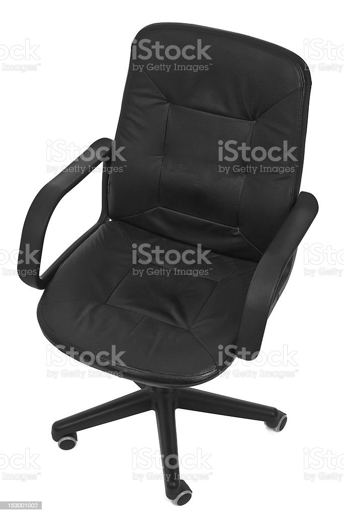Leather Chair Top View Stock Photo & More Pictures of Black Color ...