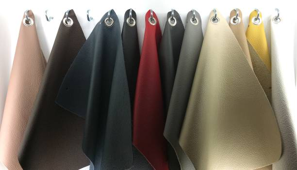leder farbe und textur farbfelder für möbel. - diy leder stock-fotos und bilder