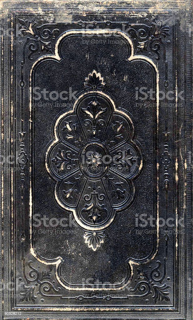 Leather Cover royalty-free stock photo