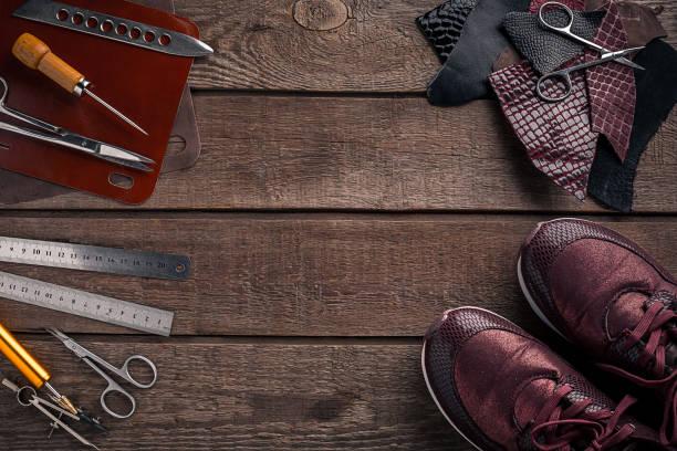 Ausgeschnittene Stiefeletten Stockfotos & Ausgeschnittene