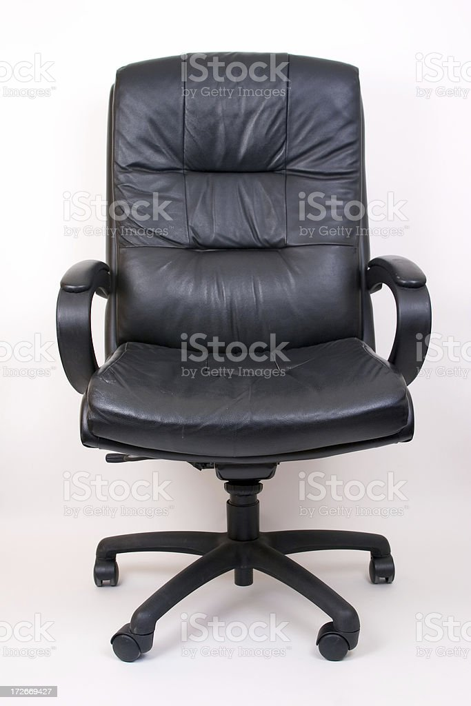 Leather Executive Chair royalty-free stock photo